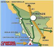 Toskana Strand Karte.Mobilheim Toskana